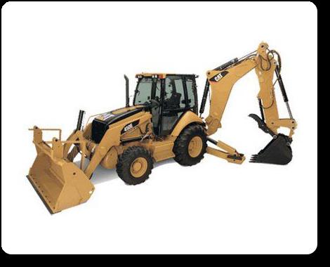 Caterpillar - Kolový traktorbagr CAT 442-D